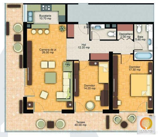 NUINCA 3 cam Tampa Garden Residence - apartament-de-vanzare-3-camere-brasov-racadau-70923026